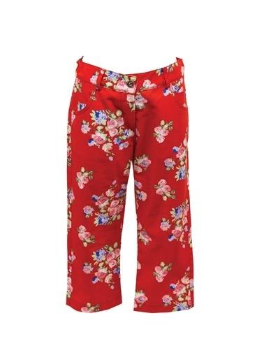 Zeyland Kırmızı Çiçek Baskılı Pantolon (5-12yaş) Kırmızı Çiçek Baskılı Pantolon (5-12yaş) Kırmızı